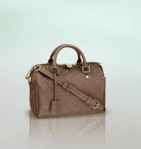 Louis Vuitton Bronze Monogram Empreinte Speedy Bandouliere 25 Bag