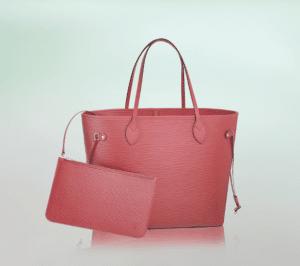 Louis Vuitton Corail Epi Neverfull MM Bag