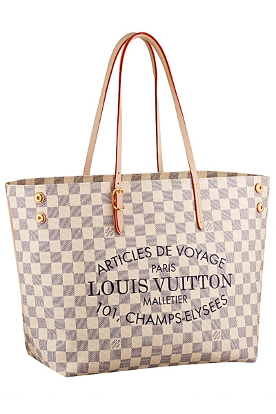 New Louis Vuitton Damier Azur Bag Styles for Spring 2014 ...