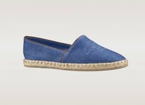 Louis Vuitton Denim Blue Espadrille - Articles De Voyage