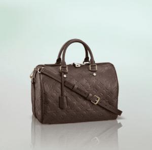 Louis Vuitton Earth Monogram Empreinte Speedy Bandouliere 30 Bag
