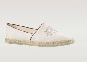 Louis Vuitton Ecru Esapdrille - Articles De Voyage