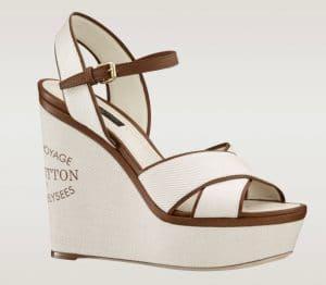 Louis Vuitton Ecru Sunlight Sandal - Articles De Voyage