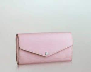 Louis Vuitton Epi Sarah in Rose Clair Pink