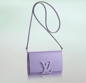 Louis Vuitton Lilas Epi Louise PM Bag