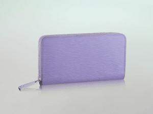 Louis Vuitton Lilas Epi Zippy Wallet