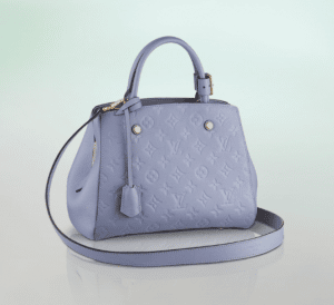 Louis Vuitton Lilas Monogram Empreinte Montaigne BB Bag