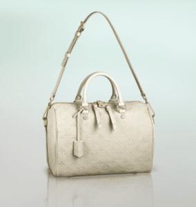 Louis Vuitton Neige Monogram Empreinte Speedy Bandouliere 30 Bag