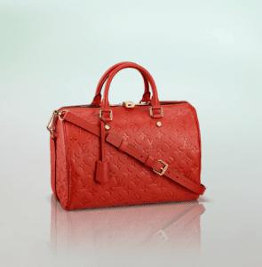 Louis Vuitton Orient Monogram Empreinte Speedy Bandouliere 30 Bag