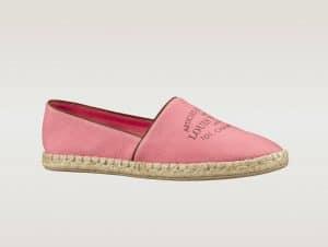 Louis Vuitton Pink Corail Esapdrille - Articles De Voyage