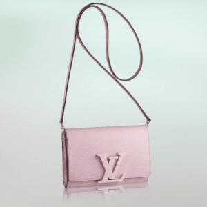Louis Vuitton Rose Clair Epi Louise PM Bag