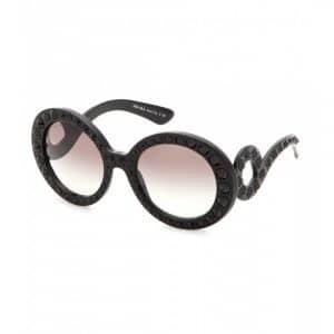 Prada Crystal Embellished Sunglasses