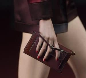 Valentino Maroon Mini Bag - Collection Shanghai 2013