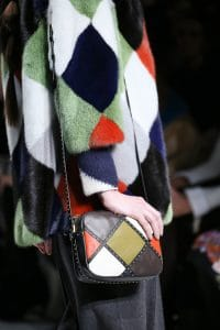 Valentino Multicolor Mini Studded Shoulder Bag - Fall 2014 Runway