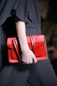 Valentino Pink/Red Flap Bag - Fall 2014 Runway