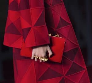Valentino Red Patent Flap Bag - Collection Shanghai 2013