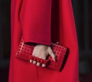 Valentino Red Va Va Voom Shoulder Bag - Collection Shanghai 2013