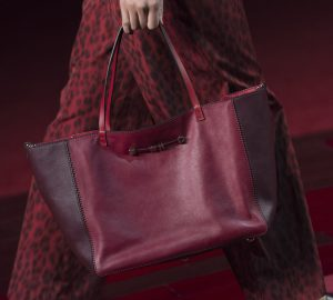 Valentino Red/Maroon Tote Bag - Collection Shanghai 2013