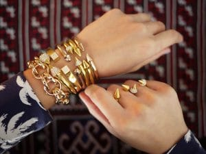Vita Fede Stacked Bracelets