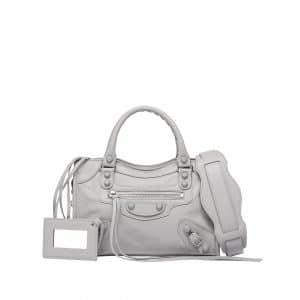 Balenciaga Gris Glace Classic Mini City Holiday Bag