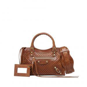 Balenciaga Saddle Mini City Cross Bag