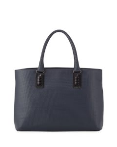 Bottega Veneta Navy Marco Polo Tote Bag- Spring 2014