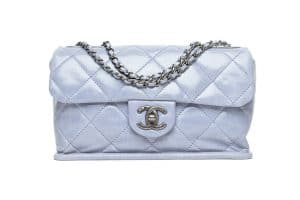 Chanel Baby Blue Mini Flap Bag - Fall 2014
