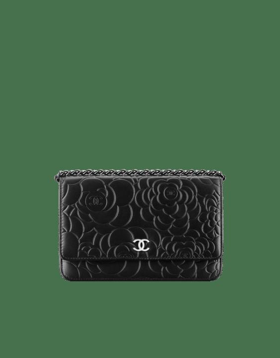 Chanel Camellia Woc Price 2014 Chanel Black Camellia Woc Bag