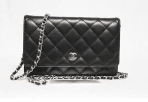Chanel Black Classic Quilted WOC Bag