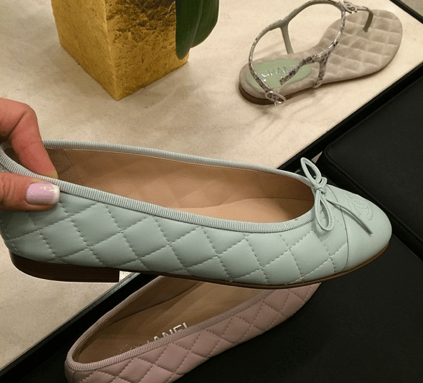 Quilted Chanel Pumps Chanel Light Blue Quilted