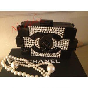 Chanel Pearlized Lego Bag - Spring 2014