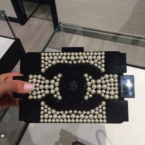 Chanel Pearlized Lego Bag - Spring 2014