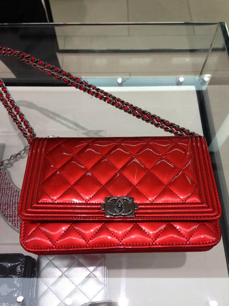 Chanel le Boy Woc Chanel Red Boy Woc Bag