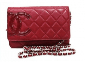 Chanel Red Cambon WOC Bag