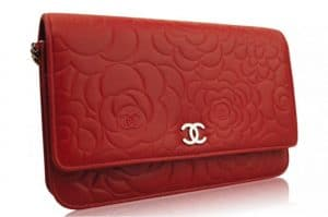 Chanel Red Camellia WOC Bag