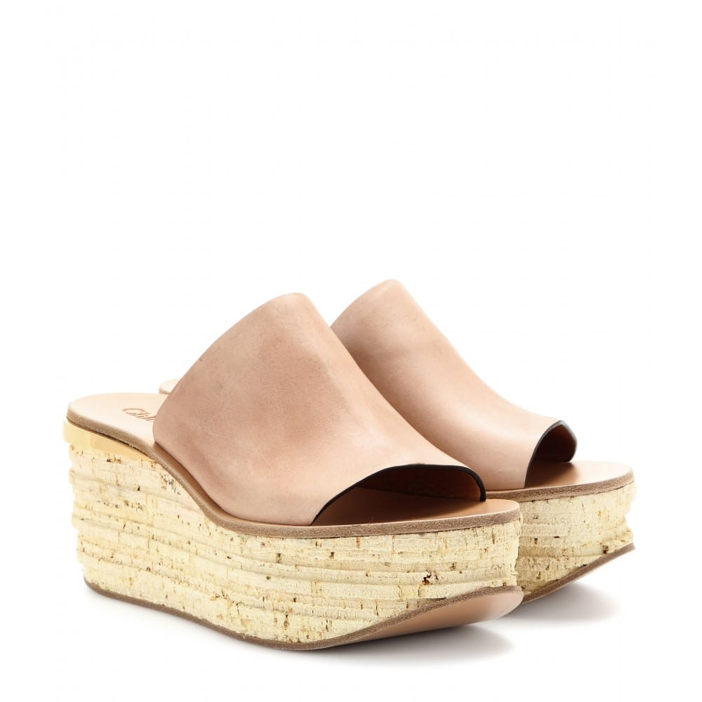 Chloe Wedge Sandals For Every Height In The Summer 2014