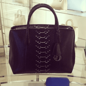 Dior Black Python DiorBar Bag