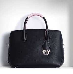 Dior Black/Rose Dragee DiorBar Bag