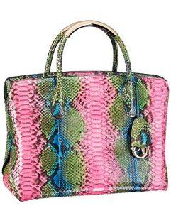 Dior Multicolor Python DiorBar Bag