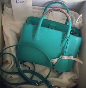 Dior Turquoise DiorBar Bag