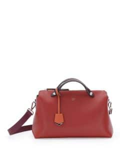 Fendi Rust/Bordeaux/Orange By The Way Bag