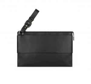 Givenchy Black Flat Pouch Bag