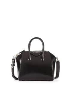 Givenchy Black Mini Antigona Box Calf Bag - Prefall 2014