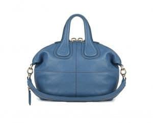 Givenchy Blue Slightly Shiny Nightingale Small Bag