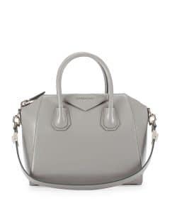 Givenchy Grey Box Calf Antigona Bag - Prefall 2014