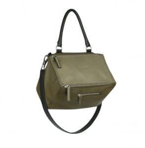 Givenchy Khaki Pandora Medium Bag