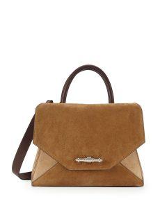 Givenchy Nubuck Beige Obsedia Tote Bag - Prefall 2014
