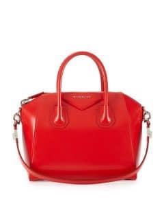 Givenchy Red Box Calf Antigona Bag - Prefall 2014
