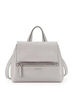 Givenchy Small Grey Pandora Tote Bag - Prefall 2014