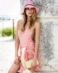 Jessica Hart for Louis Vuitton Summer 2014 Collection 2